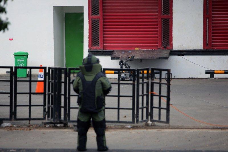 Benda diduga bom di Lampung