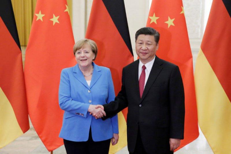 Telepon Kanselir Jerman, Presiden China ajak kerja sama vaksin