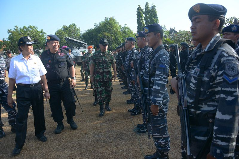 Pengamanan Pilkada Bali