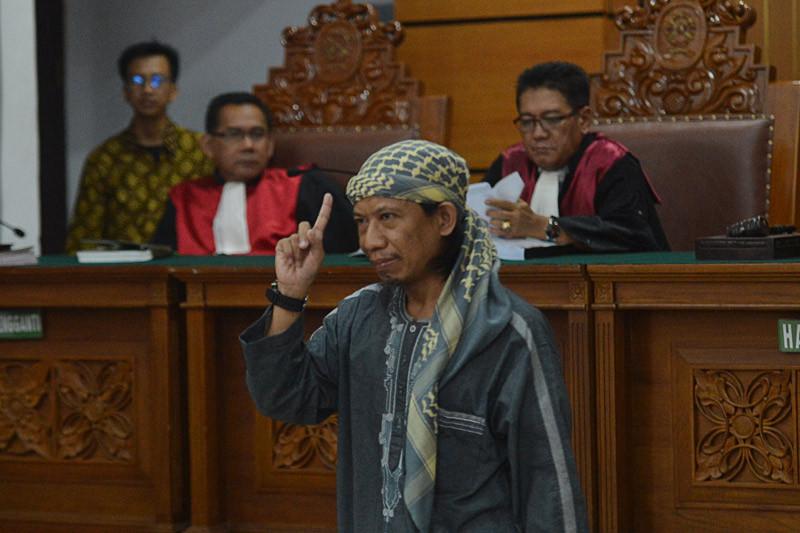 Aman Abdurrahman mengaku tak gentar hadapi vonis