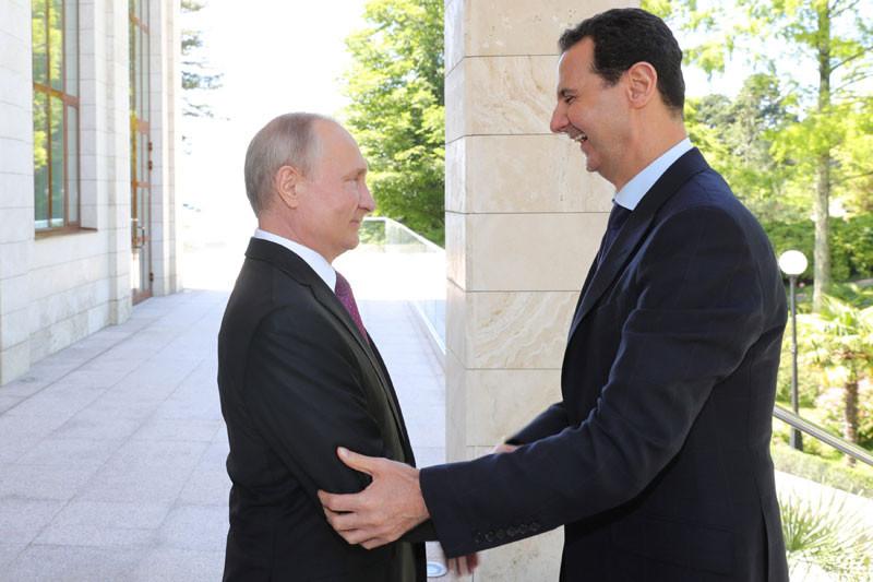 Rusia bangun pangkalan helikopter di Suriah, setelah AS hengkang,