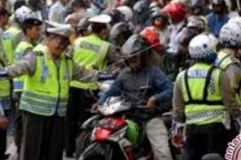 Jajaran Polda Riau Tilang 10.261 Kendaraan Selama Operasi Patuh Muara Takus
