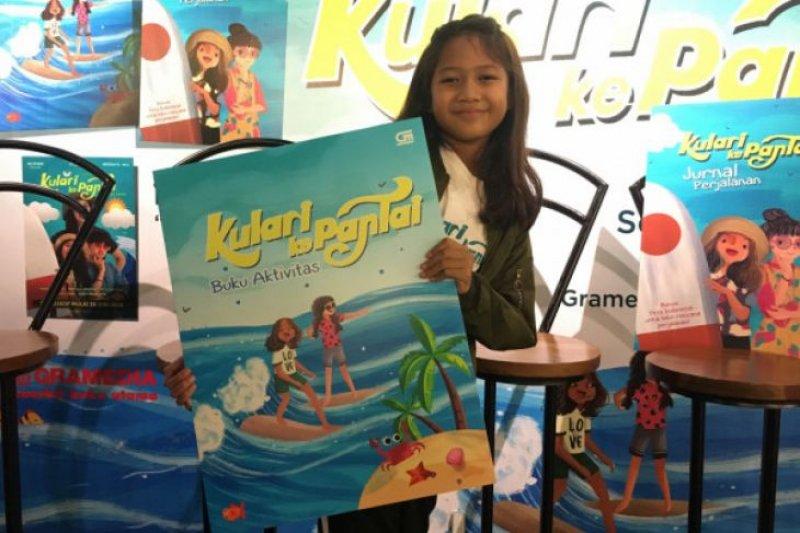 """Aktris cilik Maisha Kanna mendapatkan pengalaman seru syuting """"Kulari Ke Pantai"""""""