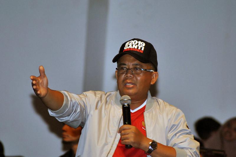 Presiden PKS tinjau korban tsunami Pandeglang