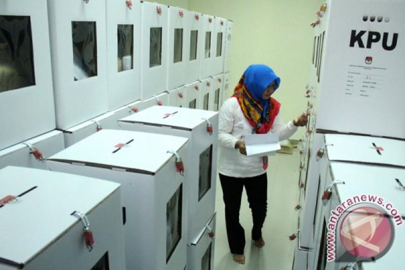 Distribusi logistik pemilu, KPU prioritaskan daerah sulit