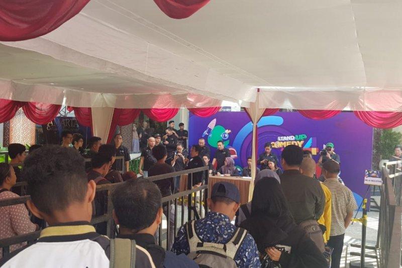 Indosiar menggelar audisi Stand Up Comedy 4 di Yogyakarta