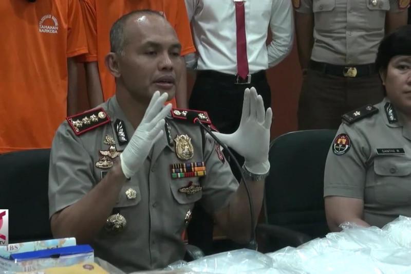 Polrestabes Bandung gagalkan penyelundupan 13 Kg sabu
