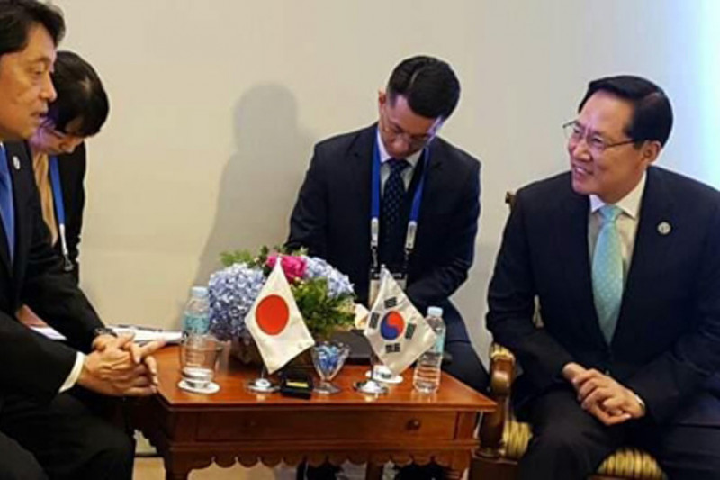 Jepang-Korsel beda pandangan soal Kim Jong-Un