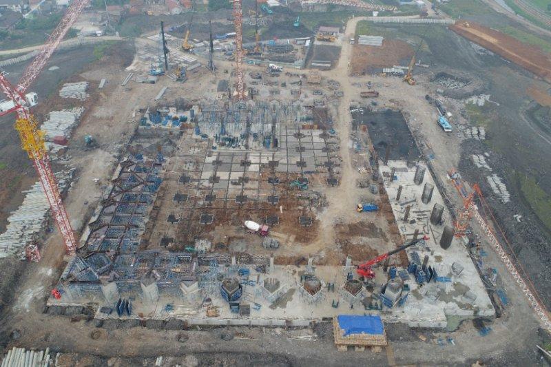 Pembangunan Masjid Terapung Al-Jabbar capai 40 persen