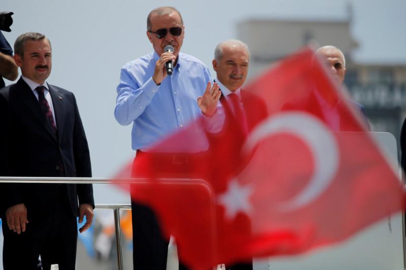 Menang pemilu, Erdogan janji lanjutkan operasi militer di Suriah