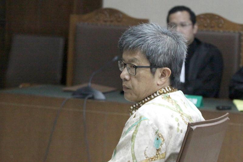 Anang Sugiana divonis enam tahun penjara dalam kasus KTP-e