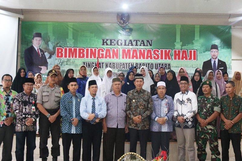 169 calon haji Barito Utara ikuti bimbingan manasik haji