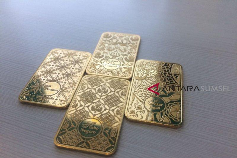 Harga emas berjangka turun untuk hari ketiga berturut-turut