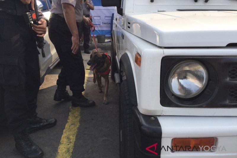 Anjing Tika amankan Stasiun di Yogyakarta