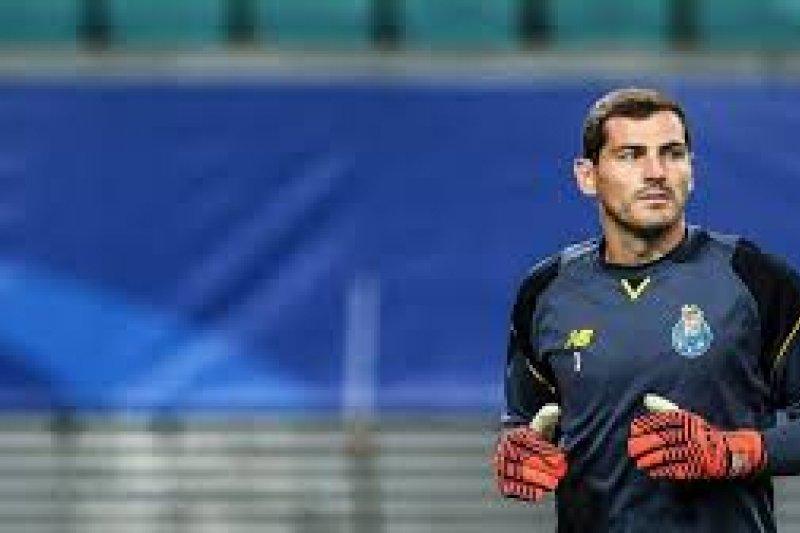 Iker Casillas ingin akhiri karier di Portugal