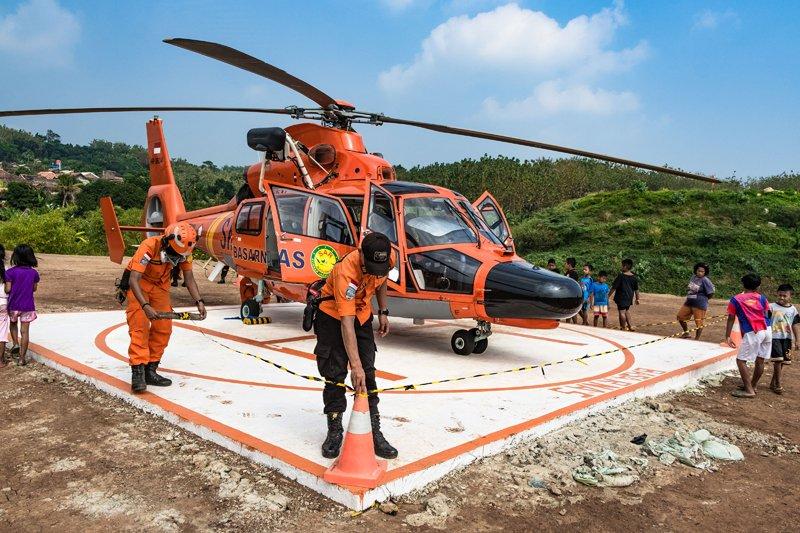 Kesiapsiagaan Helikopter Basarnas Jateng