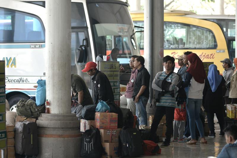 Kemenhub pantau arus mudik terminal Mengwi Bali