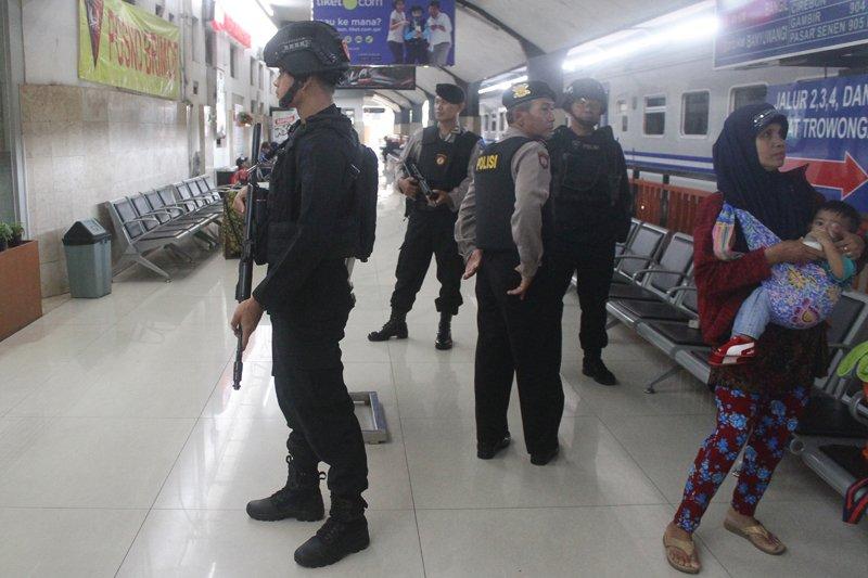 Pengamanan Mudik Di Stasiun