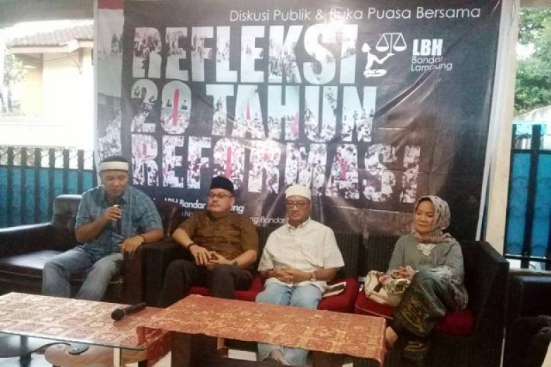 Refleksi 20 Tahun Reformasi di Lampung