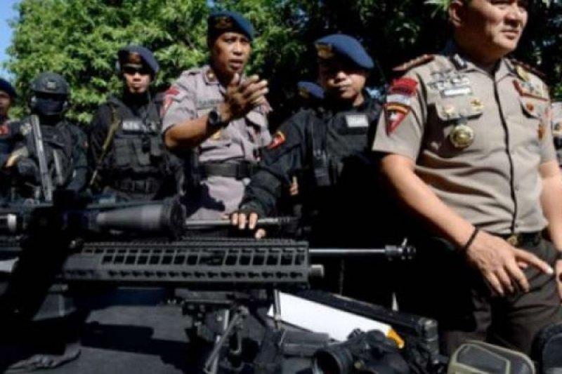 Polda Riau kerahkan dua SSK Brimob ke Jakarta