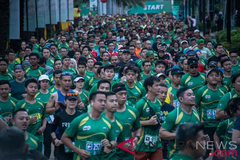 16.000 pelari ikuti Milo Jakarta 10K
