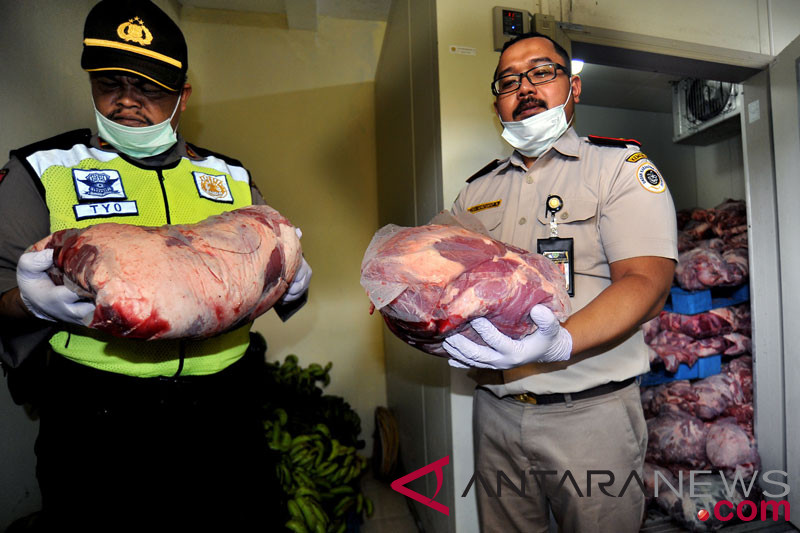 4.637 ton daging celeng dimusnahkan