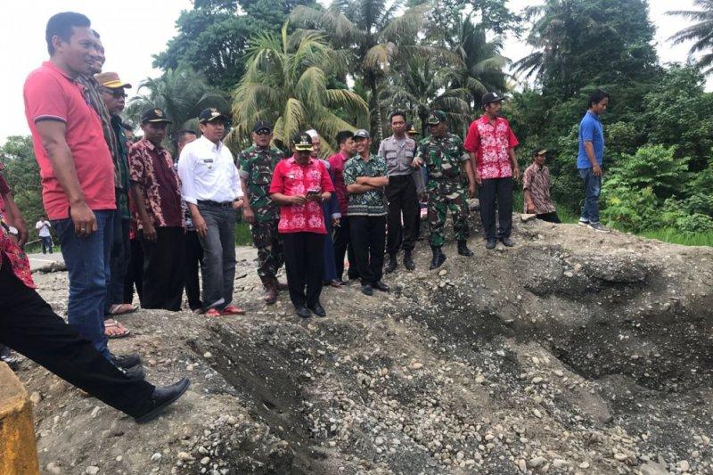 Empat kecamatan di Banggai diterjang banjir