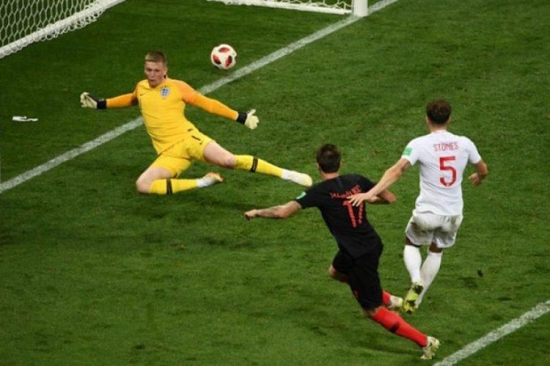 Piala Dunia - Gol kemenangan Kroasia atas Inggris Foto Page 1