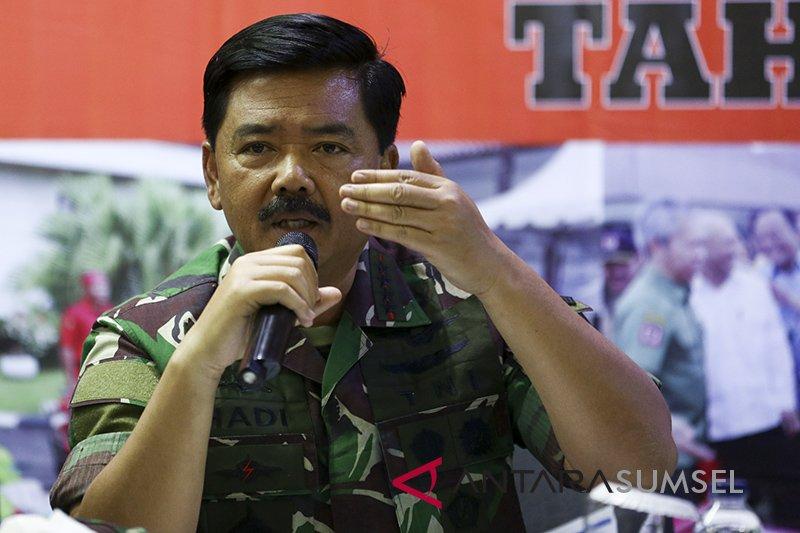Kapolri minta  Panglima TNI bantu tangkap tangan pembakar lahan