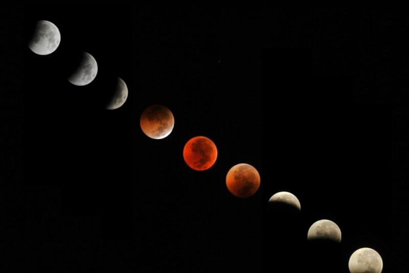 Saksikan gerhana bulan merah super bertepatan Waisak!