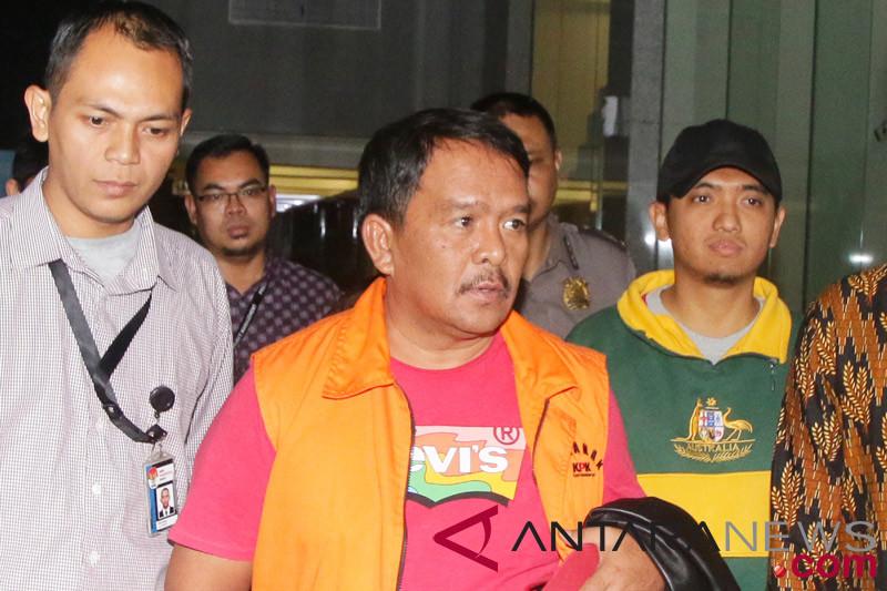 KPK geledah rumah Pangonal Harahap di Medan