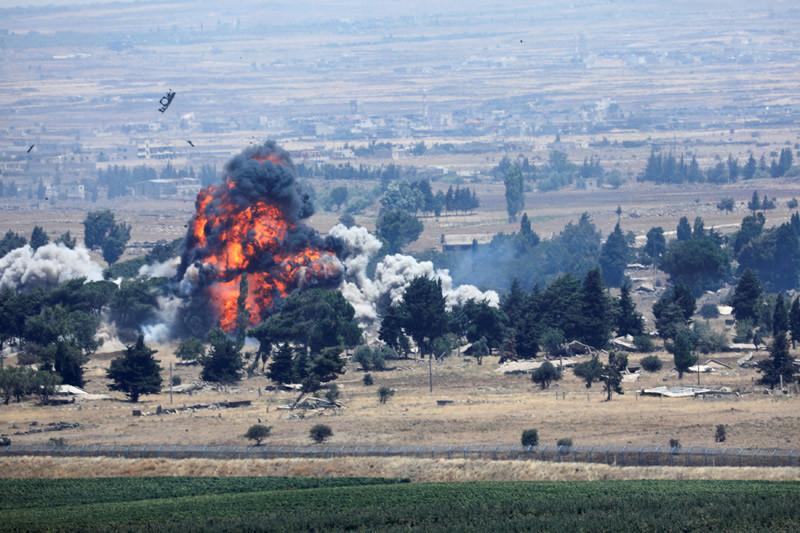 Suriah sebut Israel serang beberapa pangkalan di seluruh negeri