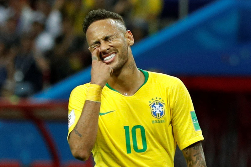 Neymar dipanggil masuk skuat untuk laga persahabatan Brasil