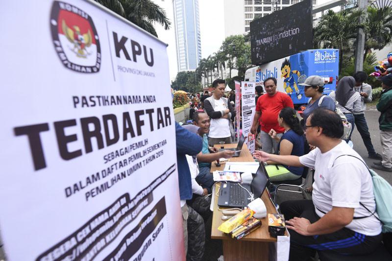 KPU katakan DPT data ganda kurang dari 3 juta