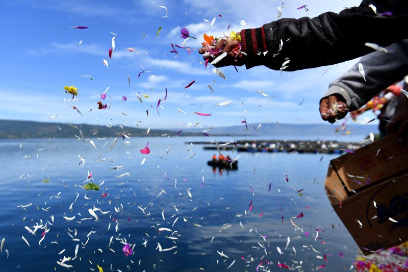 Penyeberangan Danau Toba Simanindo-Tigaras dibuka kembali
