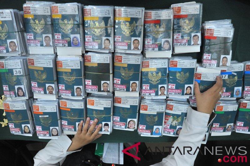Imigrasi Palembang lakukan pelayanan paspor