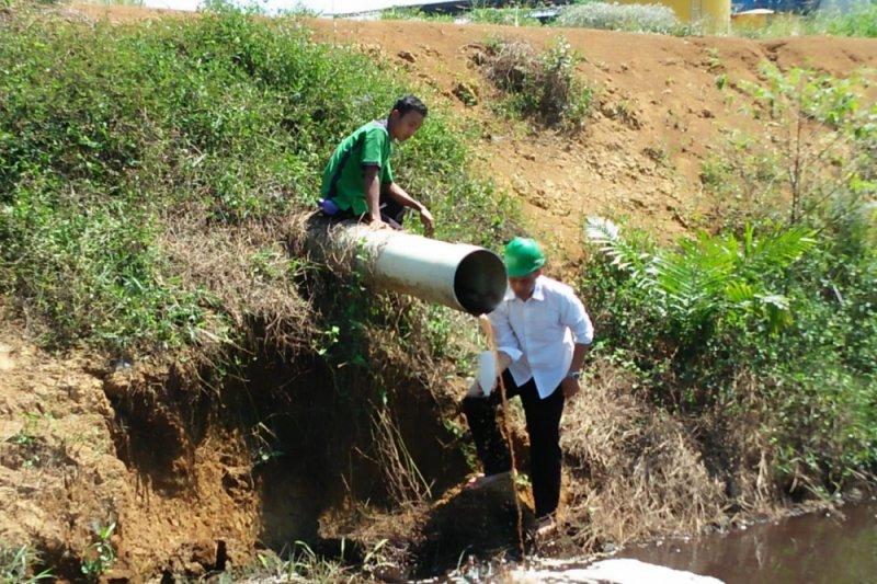 Limbah sawit PT Rimbo Panjang Sumber Makmur diduga tercemar