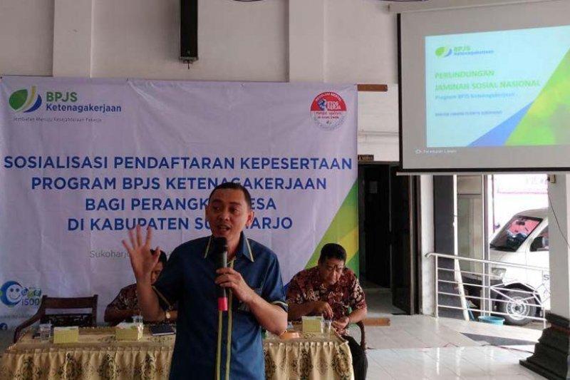 BPJS Ketenagakerjaan tingkatkan jumlah kepesertaan perangkat desa