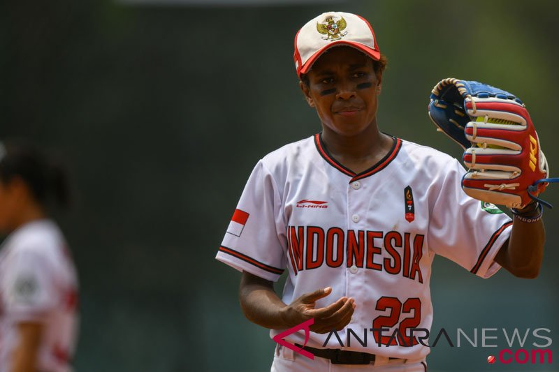 Softball Putri -HongKong vs Indonesia