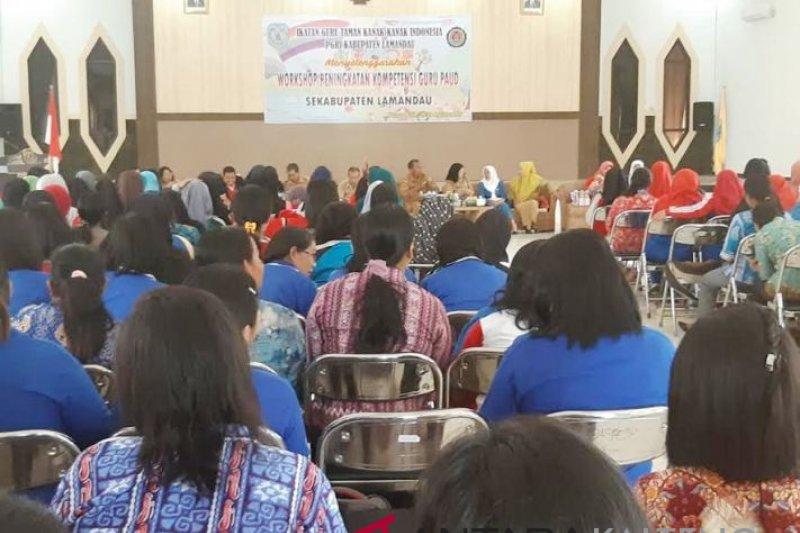 IGTKI-PGRI gelar workshop penguatan pembelajaran PAUD