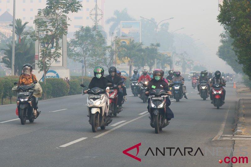 BPBD perkirakan asap di Kapuas Hulu kiriman dari wilayah lain