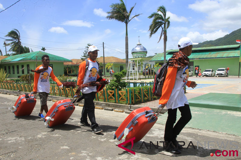 Siswa Mengenal Nusantara dari Papua menuju titik nol di Sabang