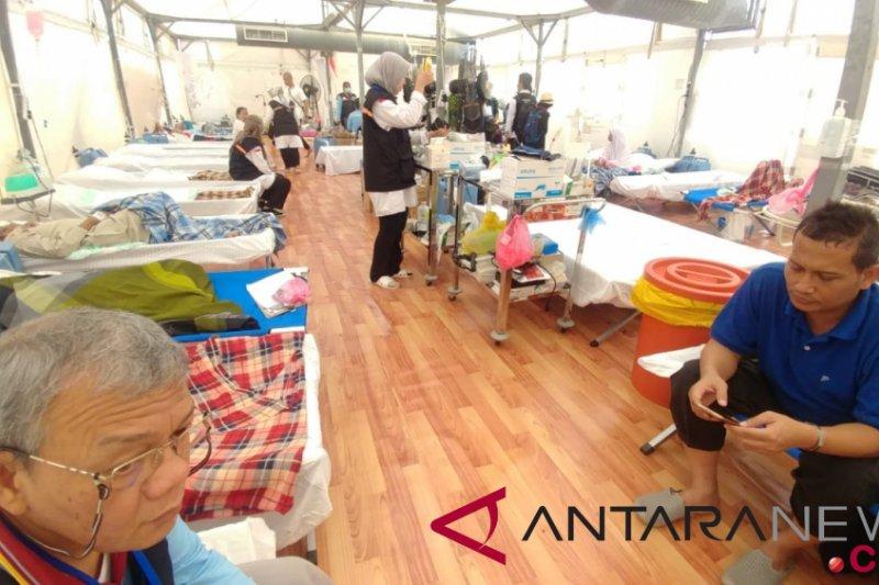 Laporan dari Mekah - Tim kesehatan antisipasi kondisi jamaah usai armuzna