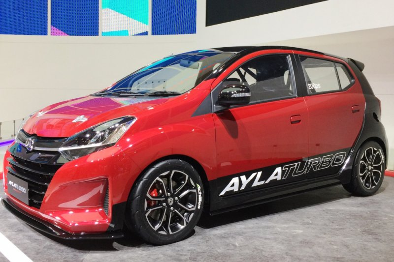 820+ Modifikasi Mobil Ayla Warna HD Terbaru