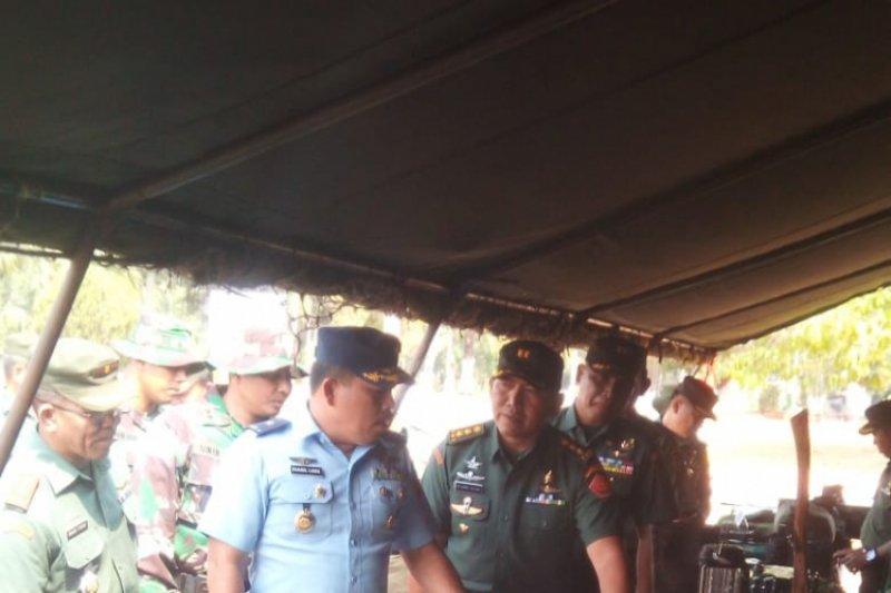 450 tentara siap diberangkatkan dari Lampung ke Papua