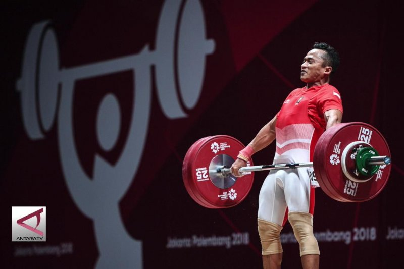 Sempat mendominasi, Lifter Deni gagal raih medali
