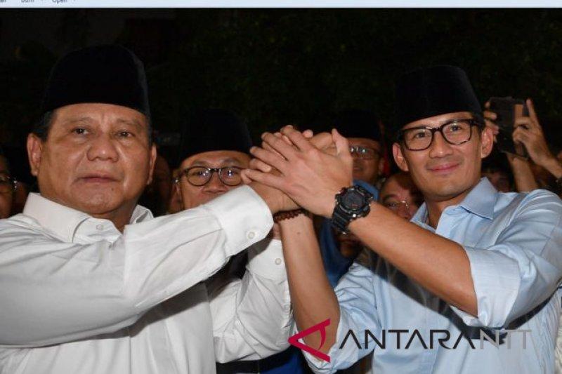 Duet Prabowo-Sandiaga pupuskan harapan kekuatan politik aliran