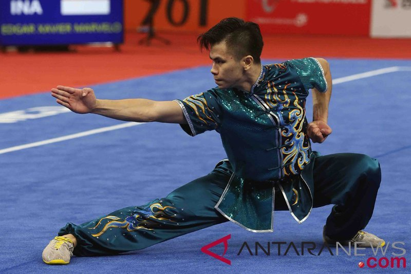 SEA Games, Edgar Xavier rebut emas nomor Daoshu/Gunshu