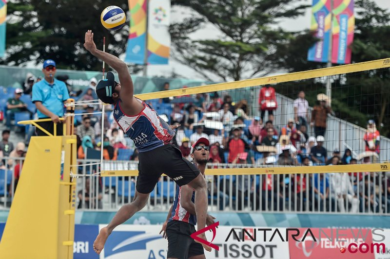Asian Games (beach volleyball) - Indonesian team wins bronze after beating China