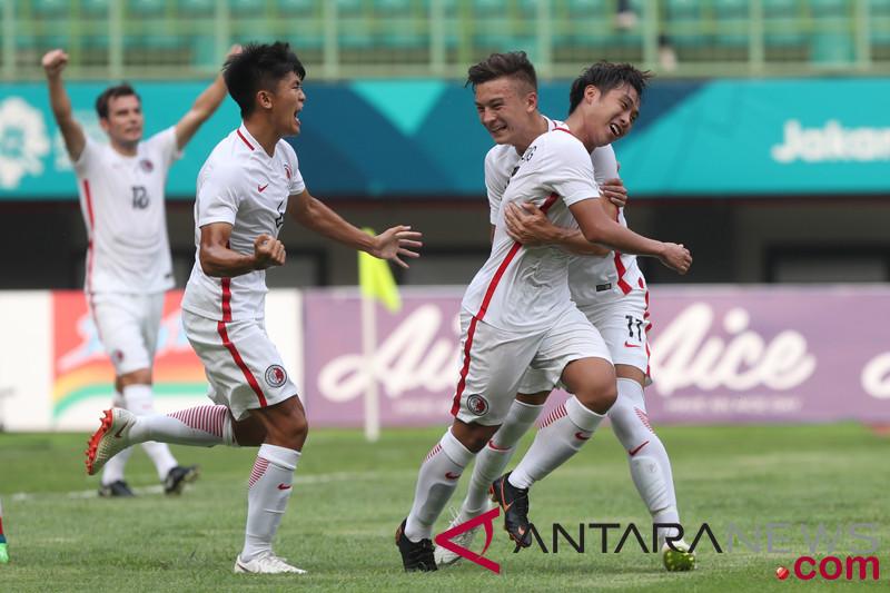 Sepak bola  - Hong Kong menang 3-1 atas Laos